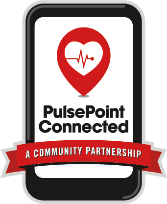 Pulse point logo decal